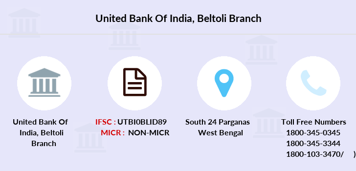 United-bank-of-india Beltoli branch
