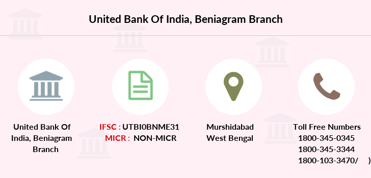 United-bank-of-india Beniagram branch