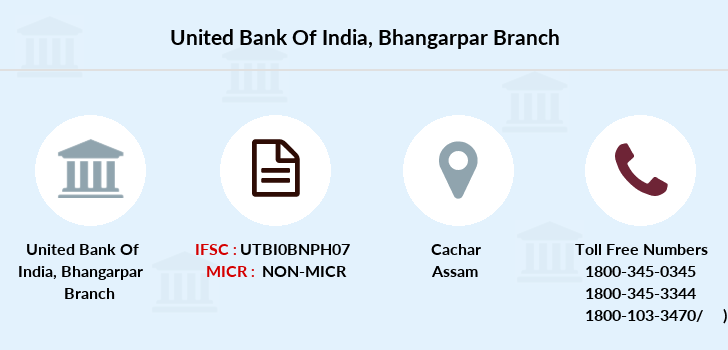United-bank-of-india Bhangarpar branch