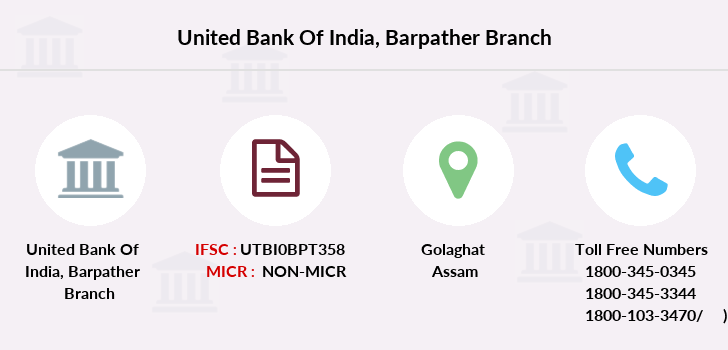 United-bank-of-india Barpather branch