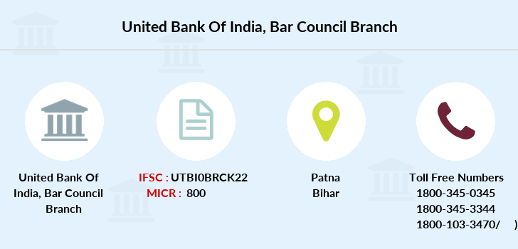 United-bank-of-india Bar-council branch