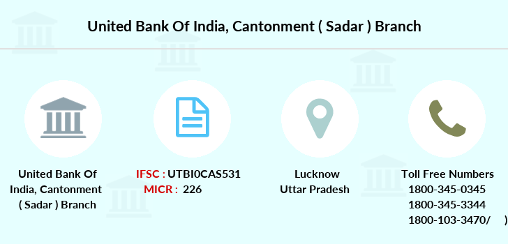 United-bank-of-india Cantonment-sadar branch