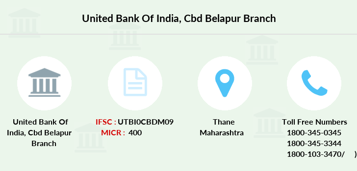 United-bank-of-india Cbd-belapur branch