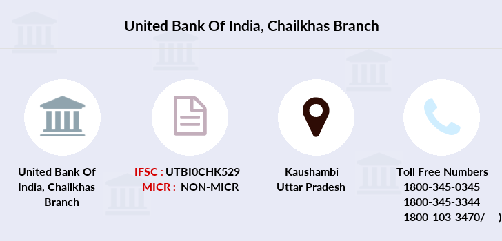 United-bank-of-india Chailkhas branch