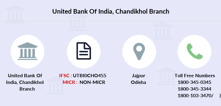 United-bank-of-india Chandikhol branch