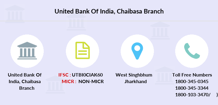 United-bank-of-india Chaibasa branch