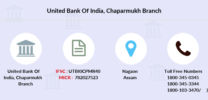 United-bank-of-india Chaparmukh branch