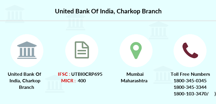 United-bank-of-india Charkop branch
