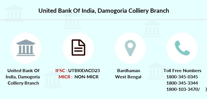 United-bank-of-india Damogoria-colliery branch