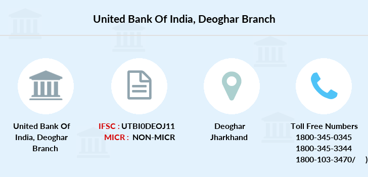 United-bank-of-india Deoghar branch