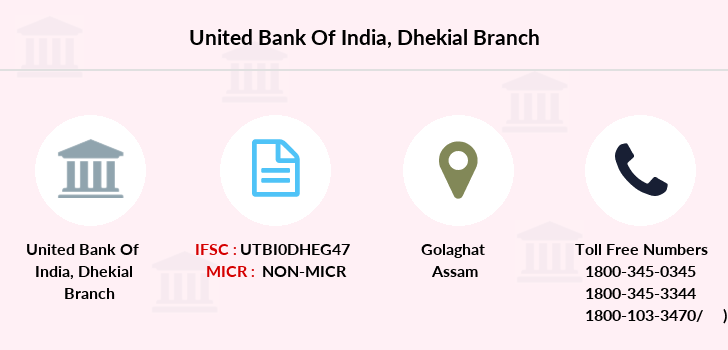 United-bank-of-india Dhekial branch