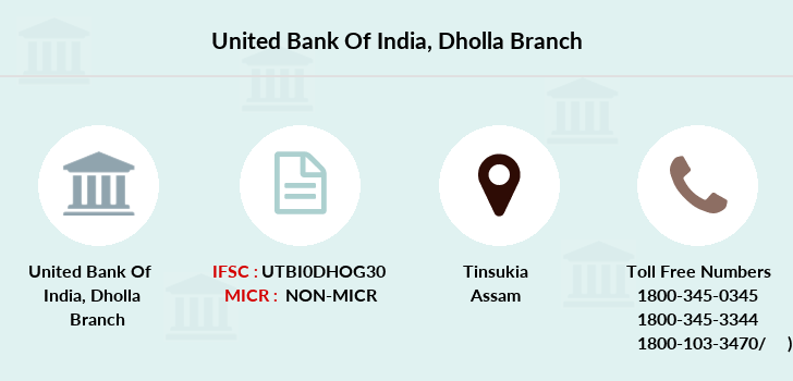 United-bank-of-india Dholla branch