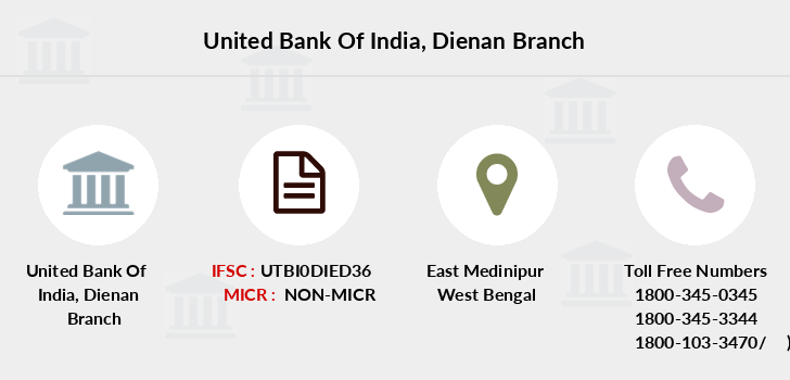 United-bank-of-india Dienan branch