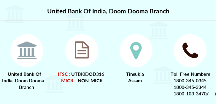 United-bank-of-india Doom-dooma branch