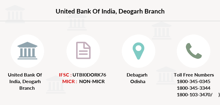 United-bank-of-india Deogarh branch