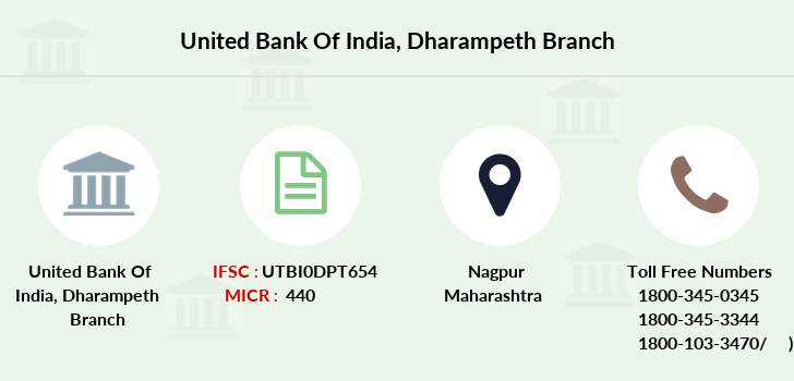United-bank-of-india Dharampeth branch