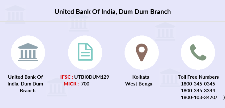 United-bank-of-india Dum-dum branch