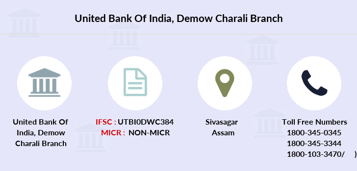 United-bank-of-india Demow-charali branch