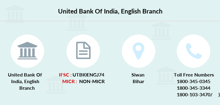 United-bank-of-india English branch