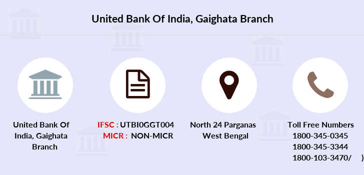 United-bank-of-india Gaighata branch