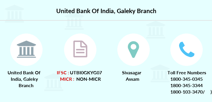 United-bank-of-india Galeky branch