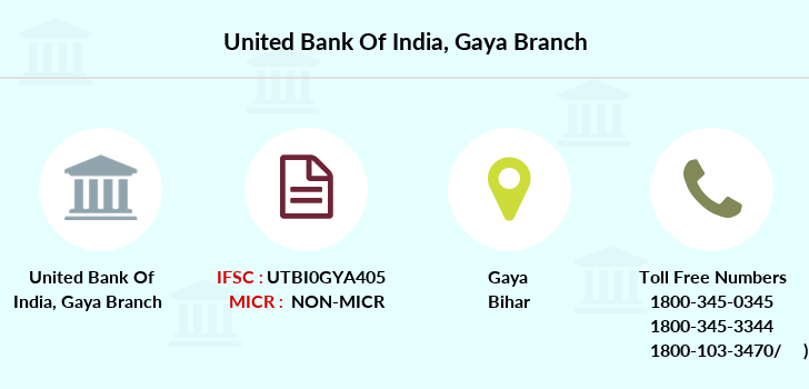 United-bank-of-india Gaya branch