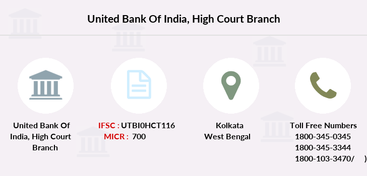 United-bank-of-india High-court branch