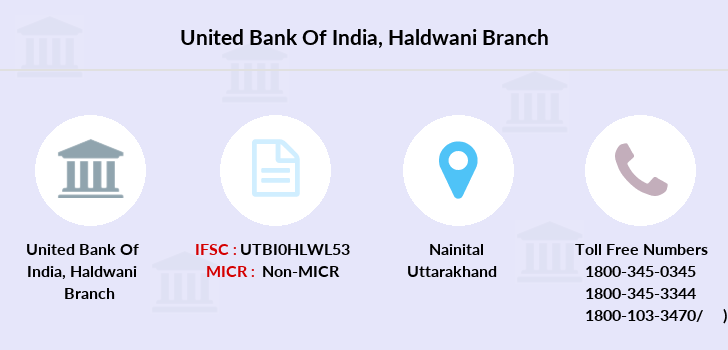 United-bank-of-india Haldwani branch