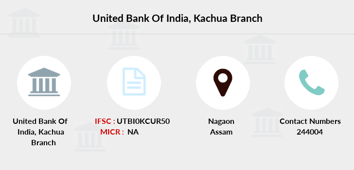 United-bank-of-india Kachua branch