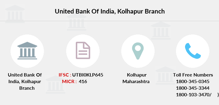 United-bank-of-india Kolhapur branch