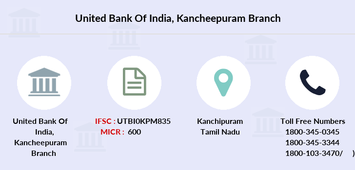 United-bank-of-india Kancheepuram branch