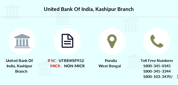 United-bank-of-india Kashipur branch