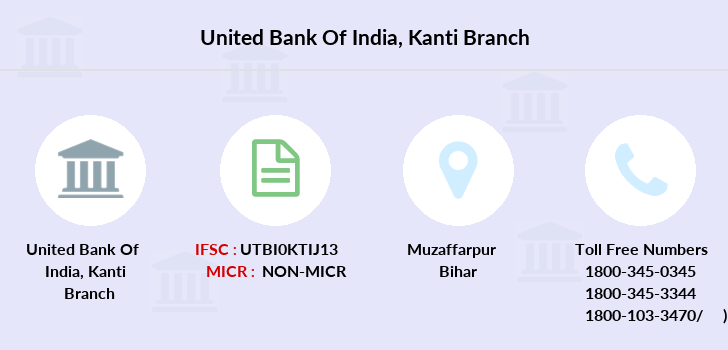 United-bank-of-india Kanti branch