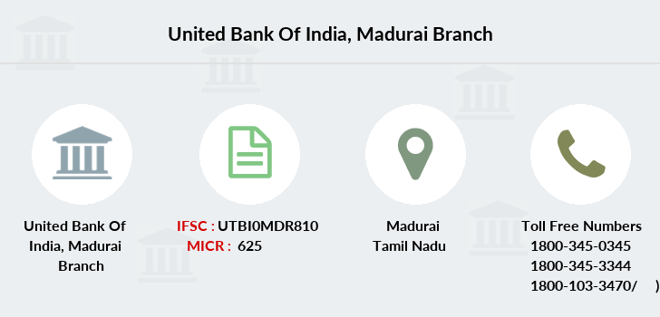United-bank-of-india Madurai branch