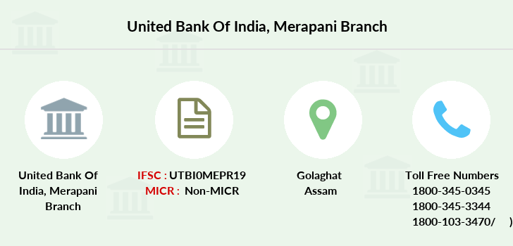 United-bank-of-india Merapani branch