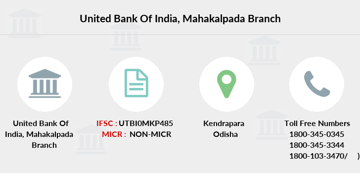 United-bank-of-india Mahakalpada branch