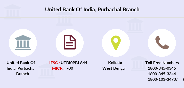 United-bank-of-india Purbachal branch