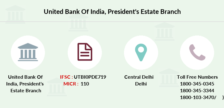 United-bank-of-india President-s-estate branch