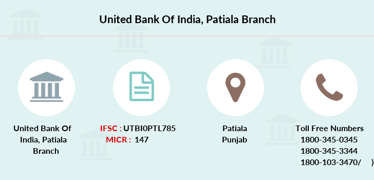 United-bank-of-india Patiala branch