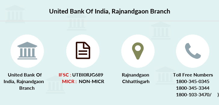 United-bank-of-india Rajnandgaon branch