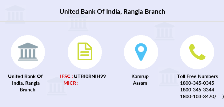 United-bank-of-india Rangia branch