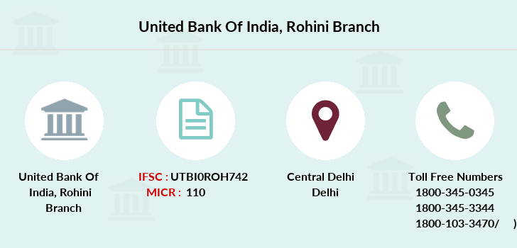 United-bank-of-india Rohini branch