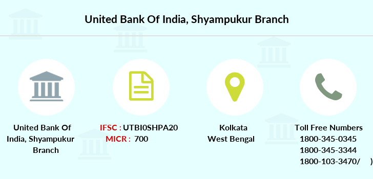 United-bank-of-india Shyampukur branch