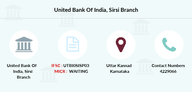 United-bank-of-india Sirsi branch