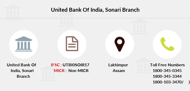 United-bank-of-india Sonari branch