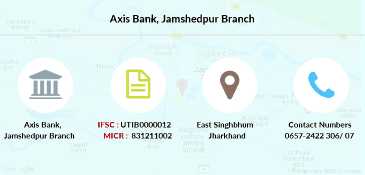 Axis-bank Jamshedpur branch