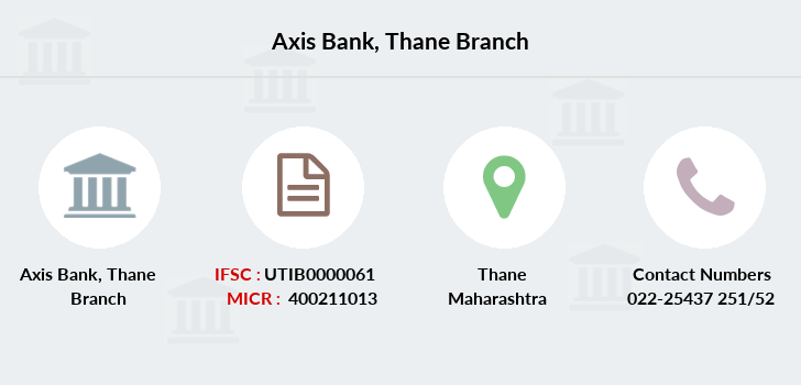 Axis-bank Thane branch