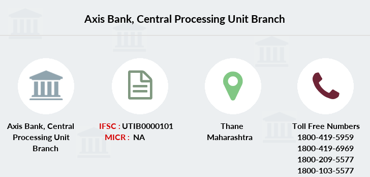 Axis-bank Central-processing-unit branch