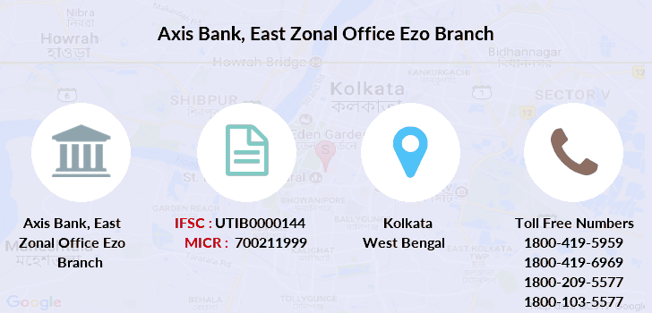 Axis-bank East-zonal-office-ezo branch