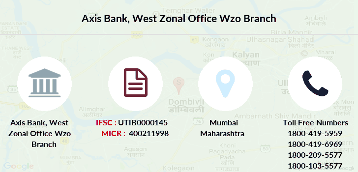 Axis-bank West-zonal-office-wzo branch
